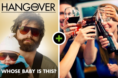 The Hangover in Nijmegen! incl. 2 uur borrelarrangement