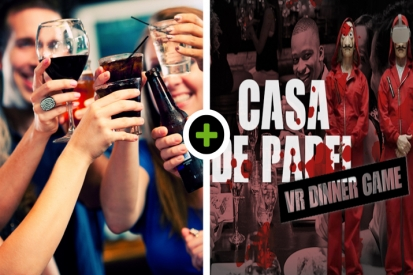 Borrel - VR Escape Dinner: Casa de Papel