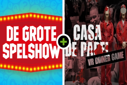 De Grote Spelshow - Borrel - VR Escape Dinner